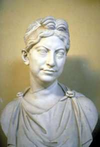 Bust of a Roman woman