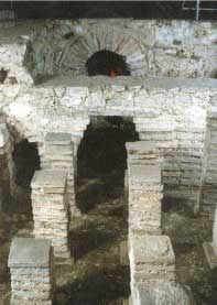 Central heating system - Newport Roman Villa