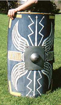 Romans soldier's shield (Scutum)