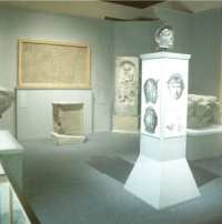 Ribchester Roman Museum interior view